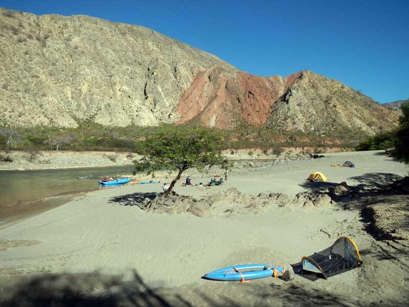 Rio Maranon Beach Camp