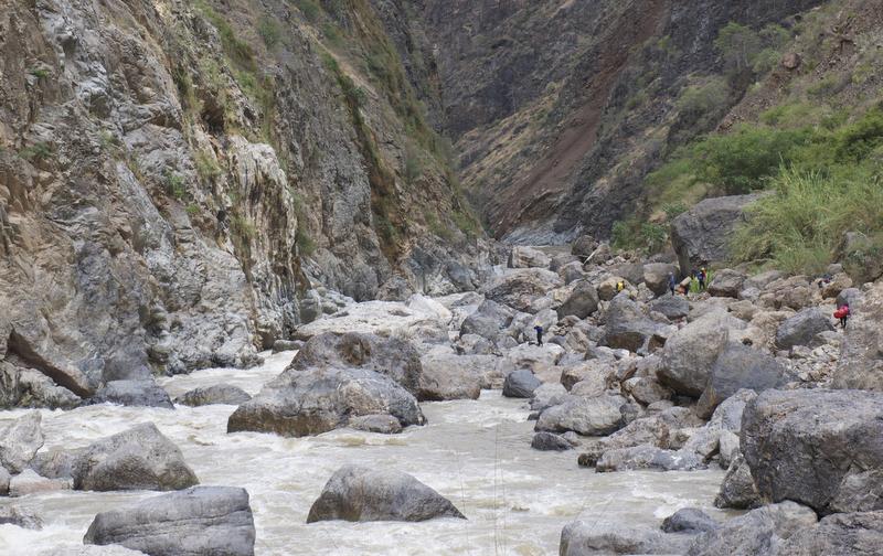 Graham Fitter - Portaging Wasson's Landslide
