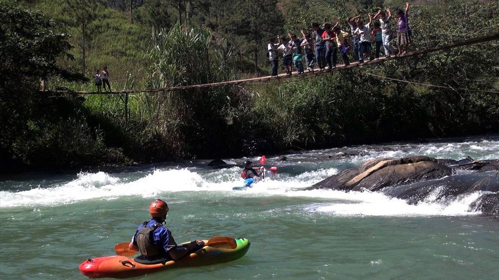 Guatemala offers whitewater paddlers an abundance of jungle rivers.