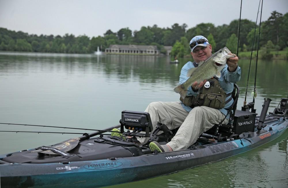 Meet the nrs kayak fishing team duct tape diaries nrs for Freshwater kayak fishing