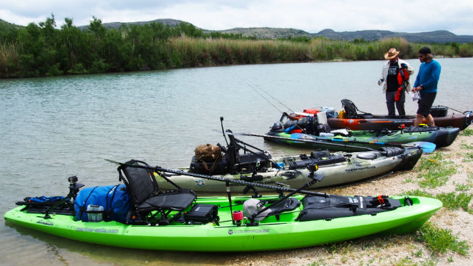 Pecos Kayaks Before Launch_web
