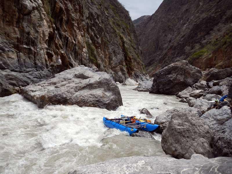 Rio Maranon Wasson's Landslide Rapid