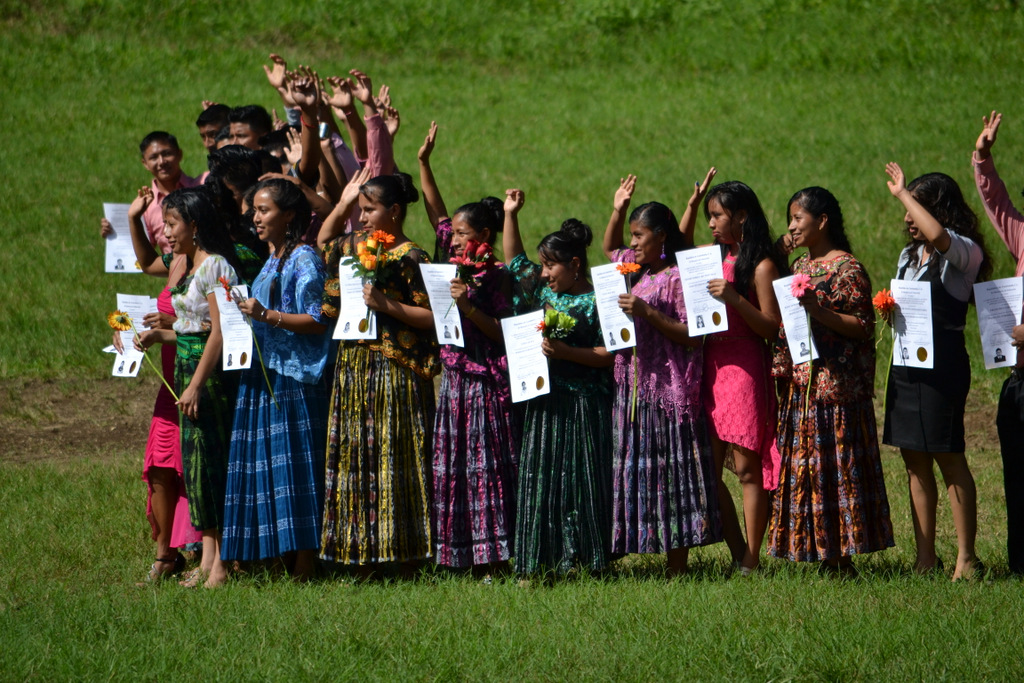 Graduation day at Ak' Tenamit, a three year vocational boarding school that empowers Mayan youth.