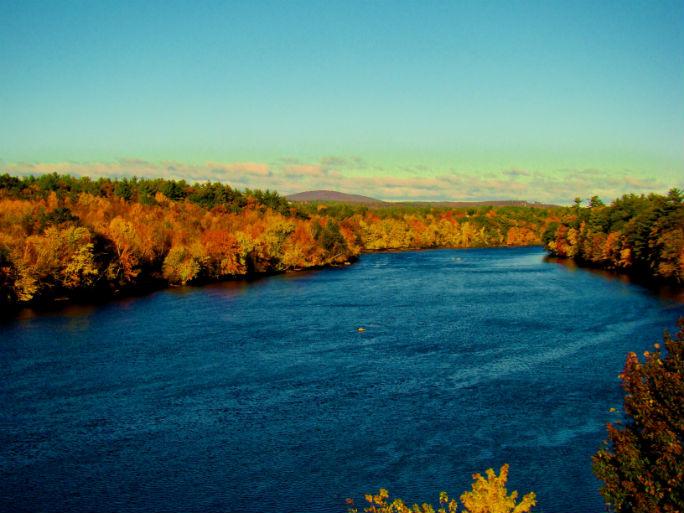 The Merrimack River. Photo: Merrimack River Watershed Council