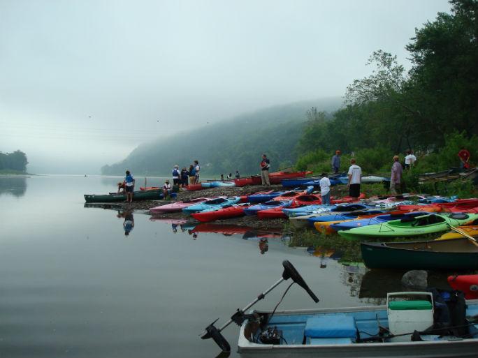Riverfest 2008 on the Susquehanna River. Photo: Don Williams