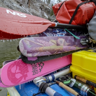 Skiing the Middle Fork of the Salmon River | Duct Tape